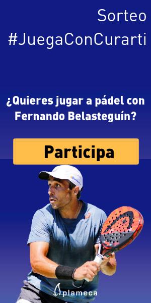 ¿Quieres jugar al pádel con Fernando Belasteguín?