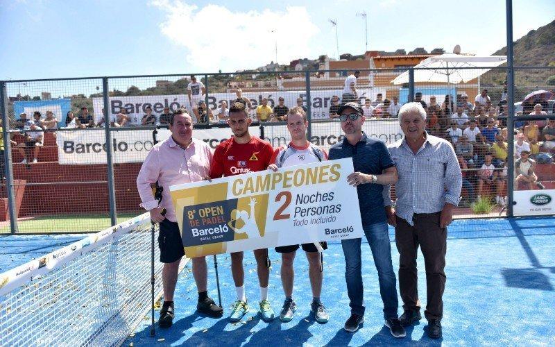 El Open de Pádel Barceló Hotel Group finaliza con éxito su octava edición