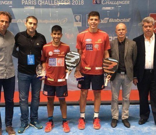 Fede Chingotto y Juan Tello se hacen con el Paris Challenger