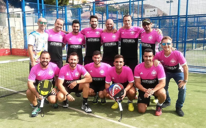 Los Caballeros sucumbieron ante Club de Tenis Málaga en la tercera jornada de las SNP