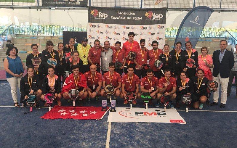 Madrid hace doblete en el Campeonato de España por Selecciones Autonómicas Absolutas 2018