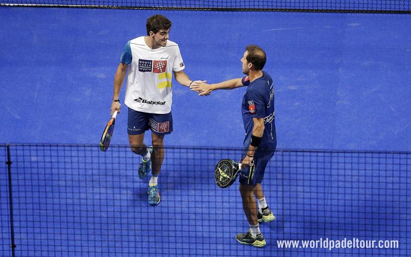 Juan Martín Díaz y Juan Lebrón jugarán juntos el Master Final