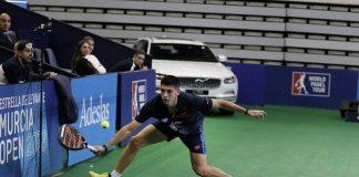 Tello y Chingotto dan la campanada en los octavos del Murcia Open