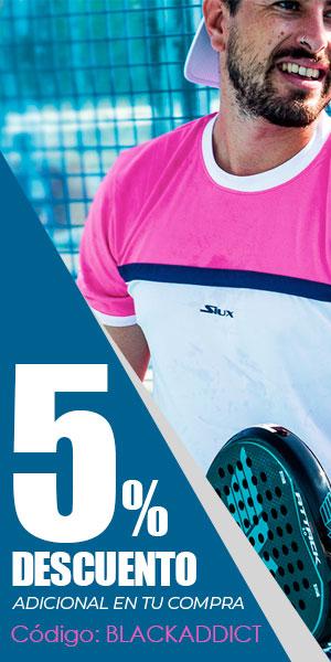 5% de descuento adicional a tu compra en Padel Nuestro