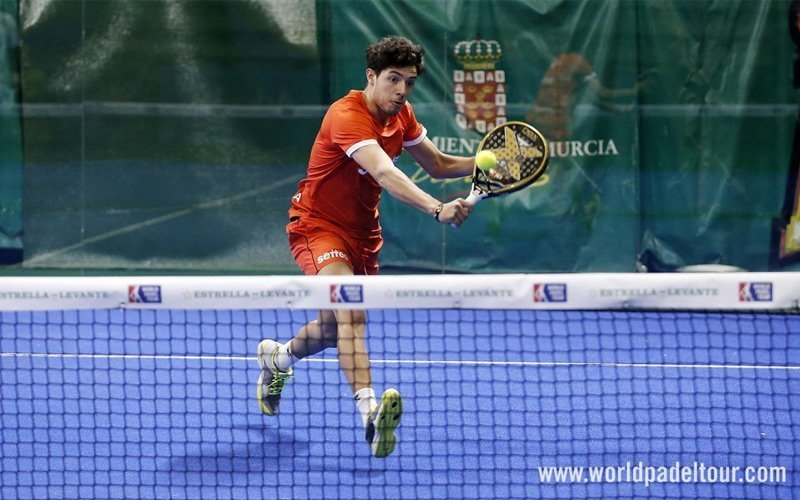 Agustín Tapia jugará con Fernando Belasteguín desde el Valencia Open