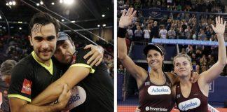 Bela - Lima y Marrero - Salazar se proclaman maestros del Master Final 2018