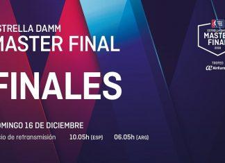 Sigue ya en directo el streaming de la final del Master Final 2018