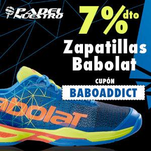 7% de descuento en zapatillas Babolat