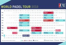 ¡Ya se conoce el calendario World Padel Tour 2019!