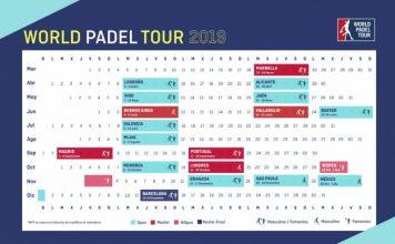 ¡Ya se conoce el calendario World Padel Tour 2019!
