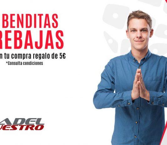 Las segundas rebajas de Padel Nuestro llegan con premio doble para todas tus compras de pádel