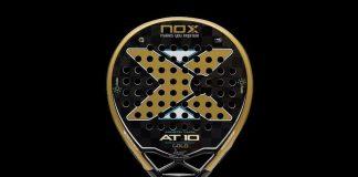 ¿Quieres ganar la pala Nox AT10 GOLD de Agustín Tapia? ¡Participa en nuestro sorteo!