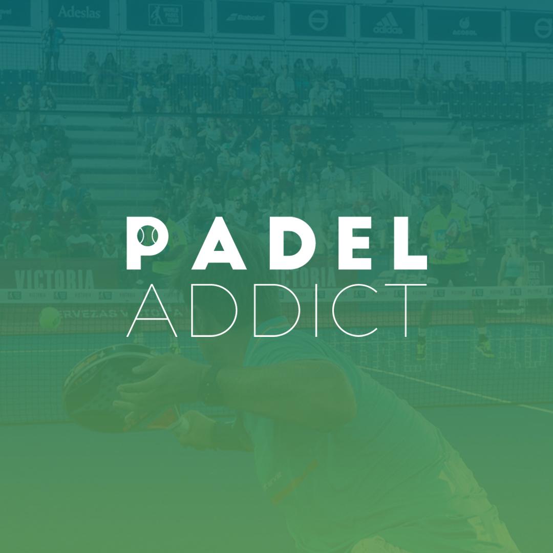Nuevo logo de Padel Addict