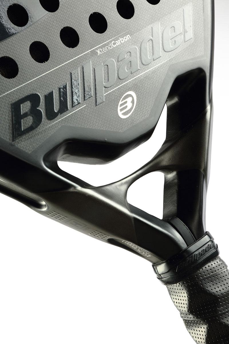 El diseño de la Bullpadel Hack Ltd es simplemente espectacular