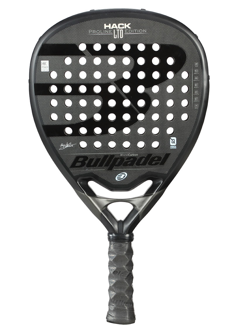La Bullpadel HACK LTD Edition, una pala estéticamente preciosa
