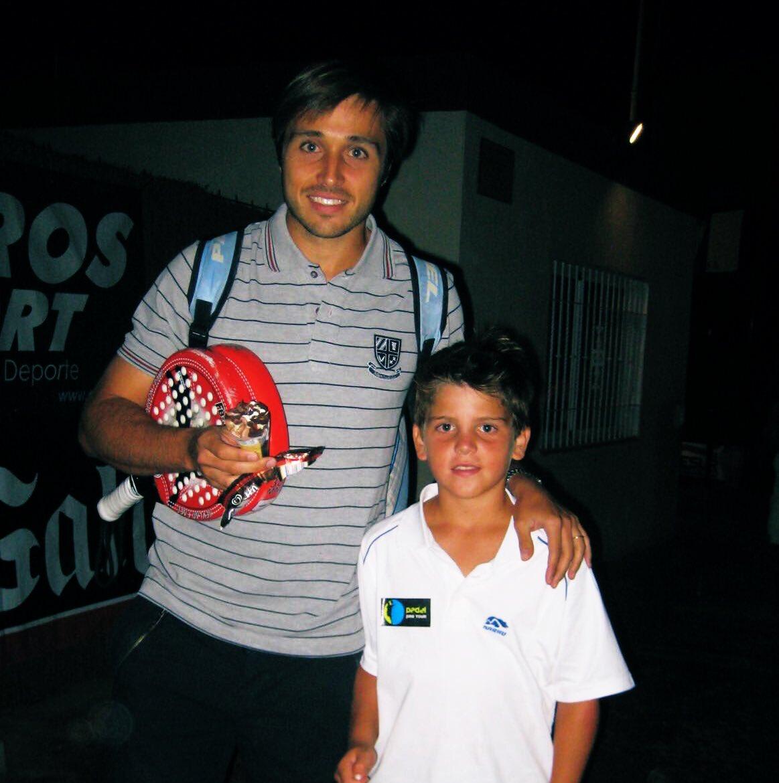 Fernando Belasteguín y Javi Garrido