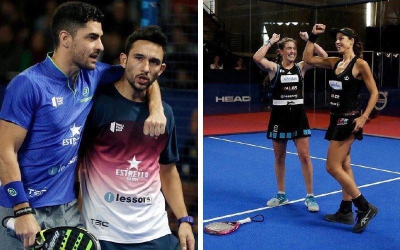 Sanyo - Maxi y las Martas se hacen con su doblete en el Logroño Open