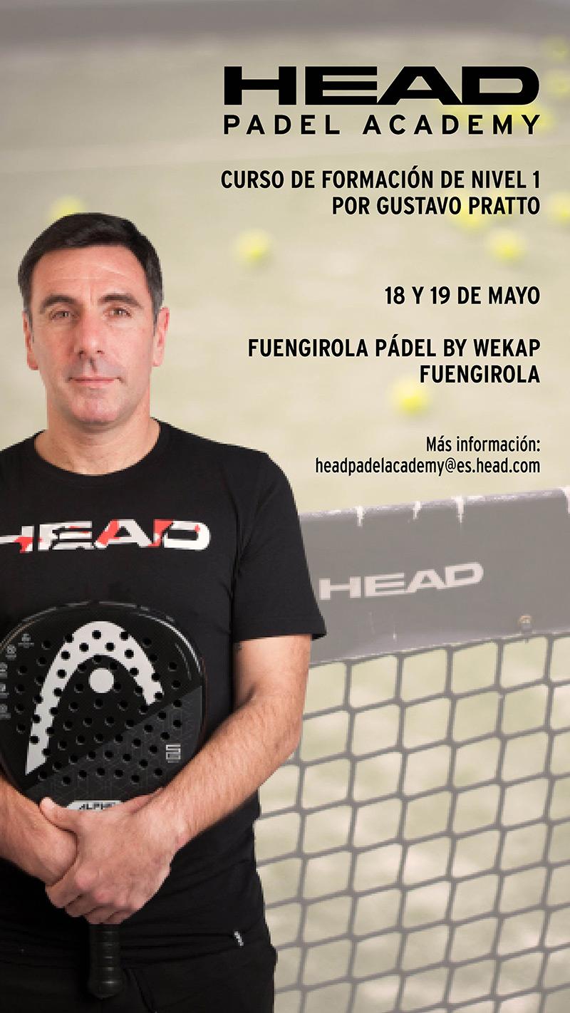 El segundo curso para entrenadores de la HEAD Padel Academy se hará en Málaga