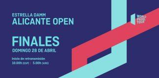 No te pierdas el streaming de las finales del Alicante Open, tercera prueba de la temporada, desde las 10:00 de la mañana de este domingo.