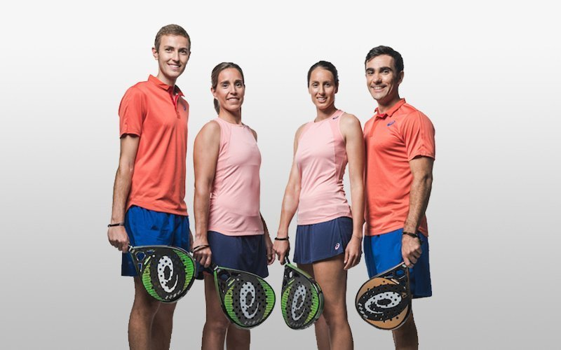 James Dyson violinista Cereza  ASICS presents its collection of paddle blades for this 2019