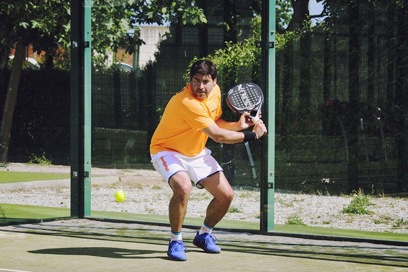 Cristian Gutiérrez, uno de los mejores jugadores diestros del circuito