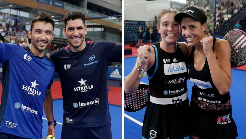 Las parejas 1 se hacen con su triplete tras ganar las finales del Vigo Open