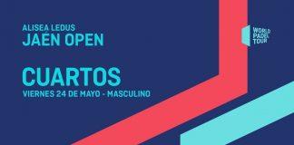 Sigue en directo el streaming de los cuartos del Jaén Open desde las 16:00