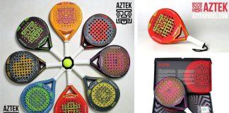 Nace AZTEK Padel, una nueva marca de pádel de calidad y diseños novedados