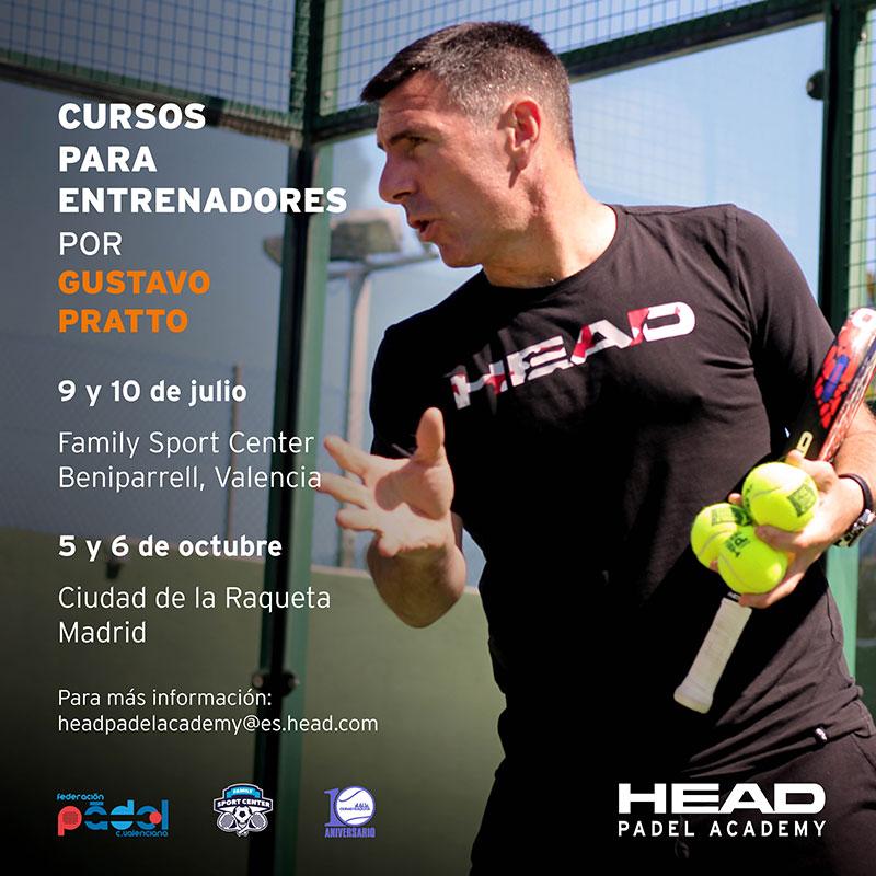 Mejora tu nivel como entrenador con 2 nuevos cursos de la HEAD Padel Academy