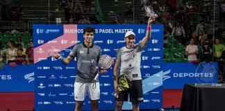 Ale Galán y Juani Mieres ganan el Buenos Aires Padel Master