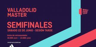 Sigue en directo el streaming de las semifinales del Valladolid Master
