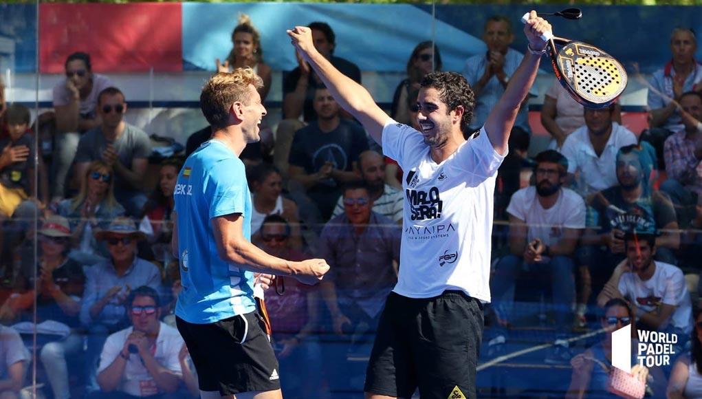 Alex Ruíz y Martín Sánchez Piñeiro registraron una gran actuación en el Valladolid Master