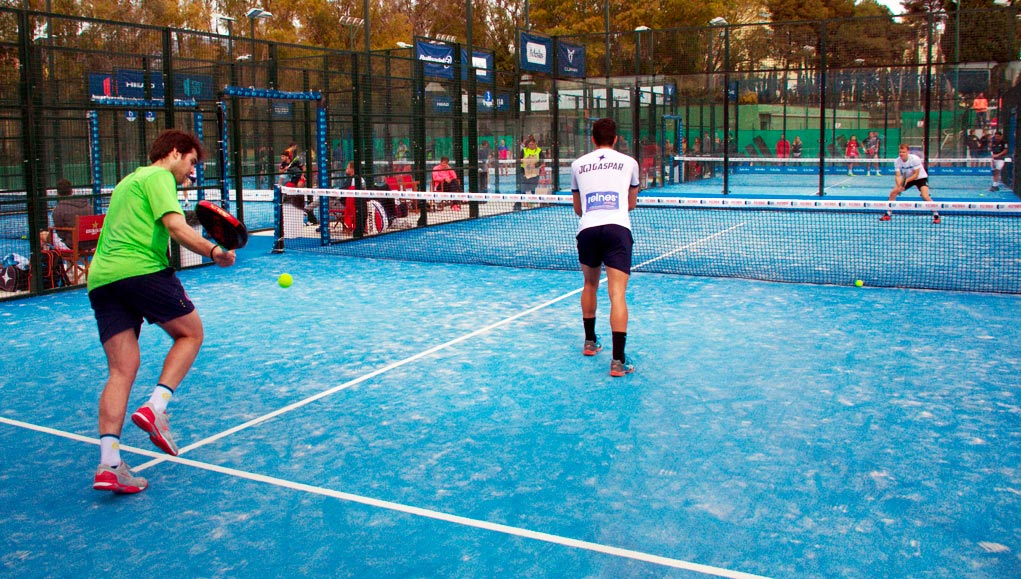 How much is it worth to build a paddle tennis court?
