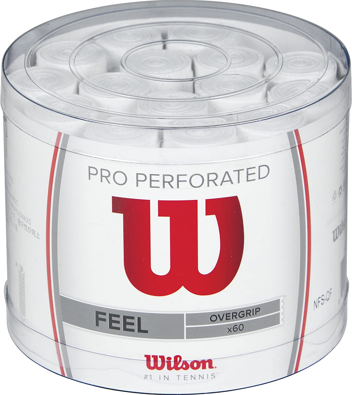 Cubo de 60 grips Wilson Pro Perforados