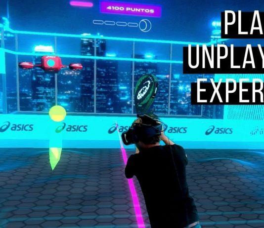 """ASICS lanza el juego de realidad virtual """"Play the unplayable experience"""""""