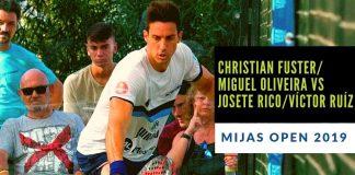 Resumen del partido de previa entre Christian Fuster/Miguel Oliveira vs Josete Rico/Víctor Ruíz