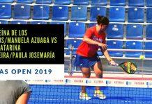 Resumen del partido entre Andreína de los Santos y Manuela Alaga vs Paula Josemaría y Ana C. Nogueira