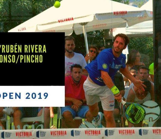 Resumen del partido entre Toni Bueno y Rubén Rivera vs Pincho Fernández y Peter Alonso