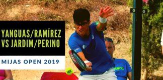 Resumen del partido entre Miguel Yanguas e Ivan Ramírez vs Marcello Jardim y Denis Perino