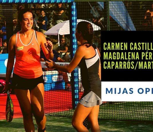 Resumen del partido entre Carmen Castillón/Magdalena Pérez y Marta Caparrós/Marta Porras