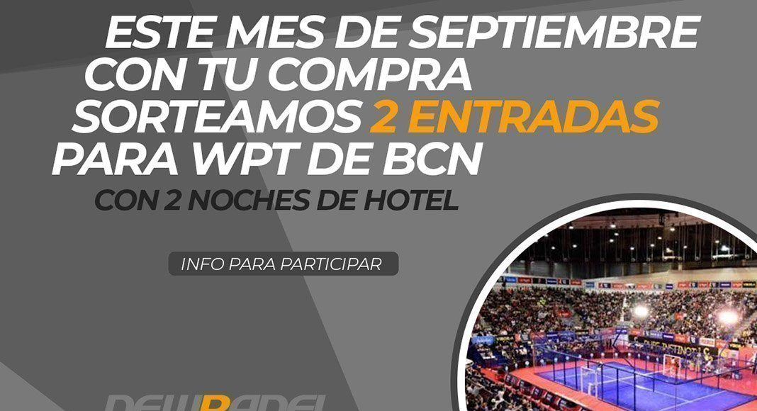 New Padel sortea dos entradas para el Master Final World Padel Tour