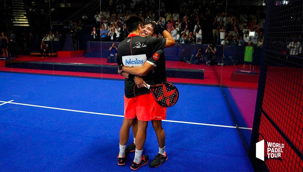 Fernando Belasteguín y Agustín Tapia consiguieron su primer título en el Madrid Master