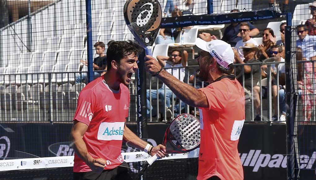 Pablo Lima y Ale Galán logran su tercer título