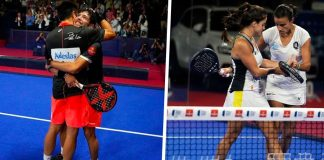 Bela y Tapia en chicos y la Portu y Paula, parejas ganadoras de las finales del Madrid Master