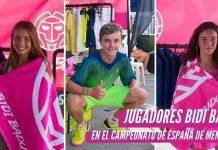 BIDI BADU contó con varios jugadores en el Campeonato de España de Menores