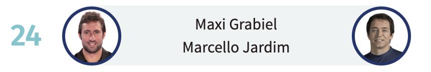 Maxi Grabiel y Marcello Jardim