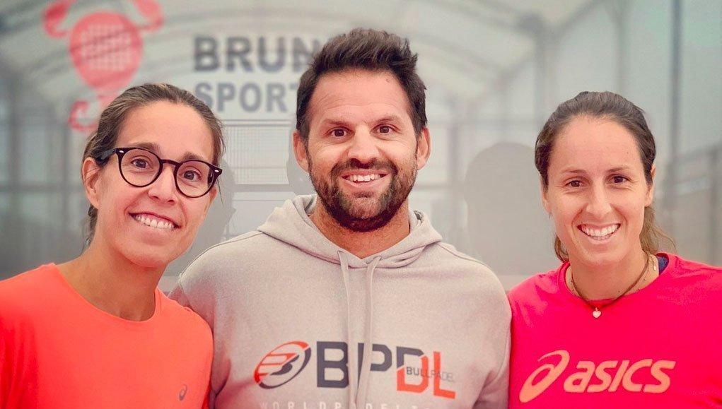 Gemma Triay y Lucía Sainz confían en Rodri Ovide para dar un giro a su temporada