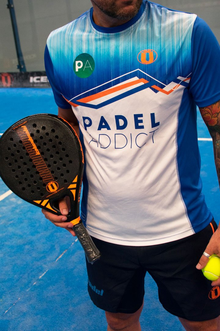 Ya puedes comprarte la camiseta oficial Padel Addict by Iceaheadspadel