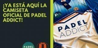 Ya está aquí la camiseta oficial Padel Addict by Iceaheadspadel