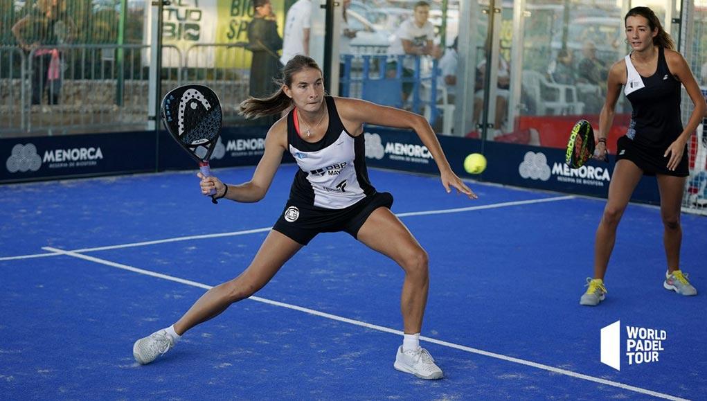 Alix Collombon y Nicole Traviesa vencieron en el partido más igualado de los dieciseisavos del Menora Open